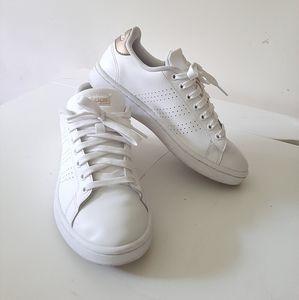 Adidas White/Golden Sneakers